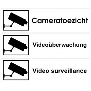 Camerabewaking stickers L