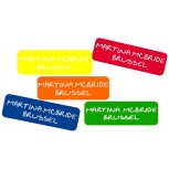 Grote Plak Labels Multi Color set 50 stuks