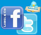 Be friends with Label and Co on Facebook and Twitter!