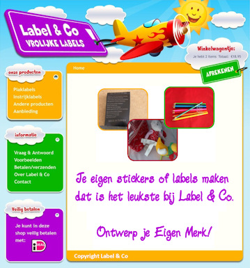 LABEL & CO is eigentijds