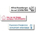 Medium Iron-on Labels 30 pcs