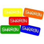 Small Sticky Labels Multi Color set 50 pcs