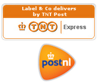 LABEL&CO delivers by Dutch PostNL