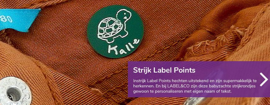 instrijk labels